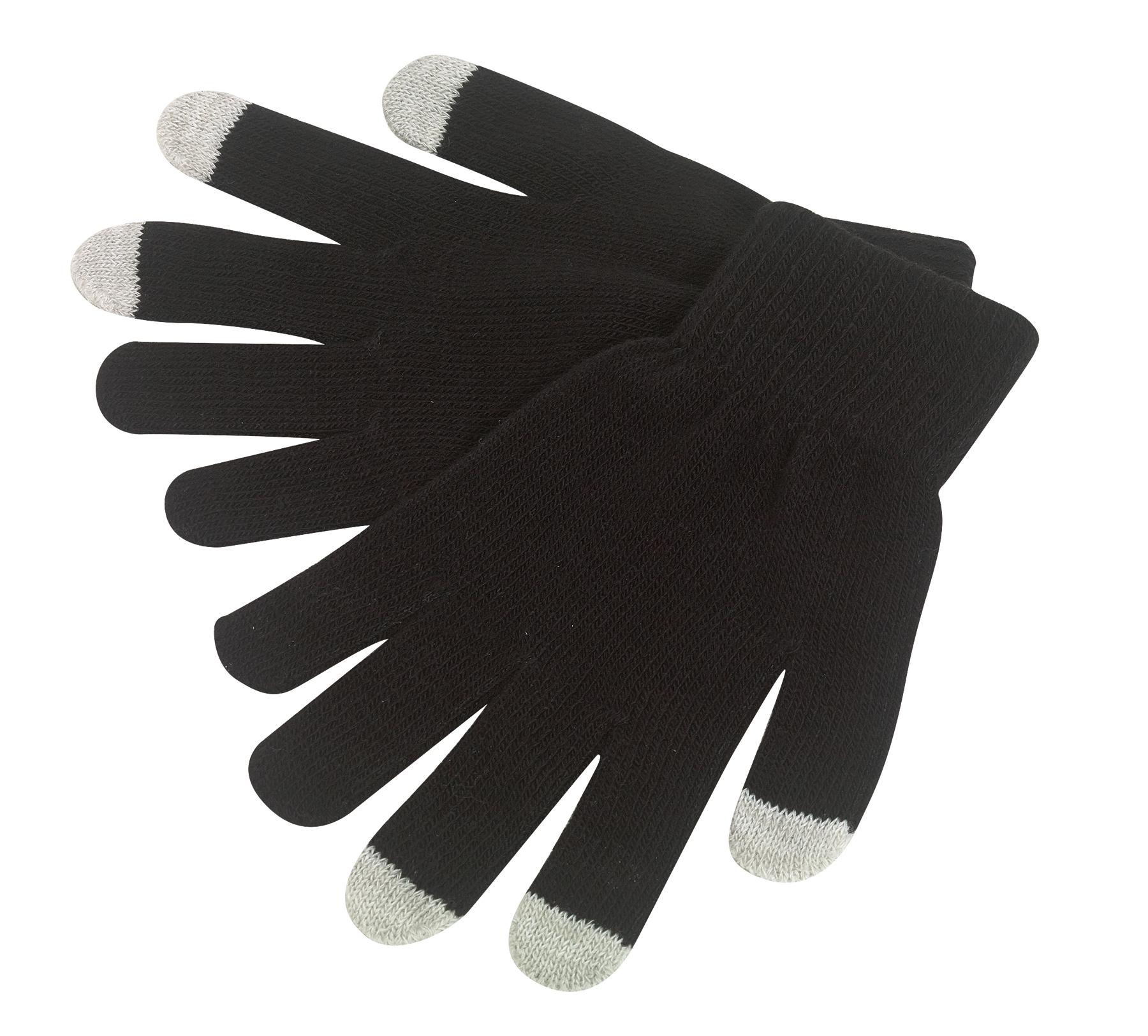 Rękawiczki dotykowe OPERATE, czarny