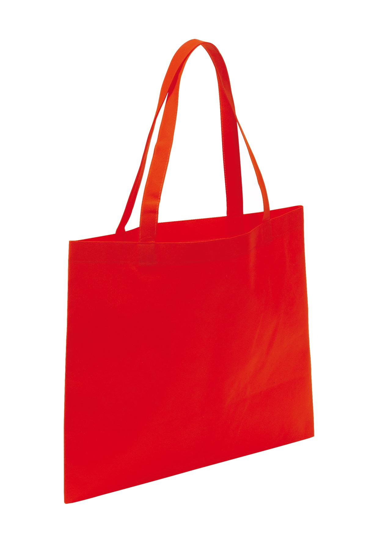 Torba na zakupy MARKET, czerwony