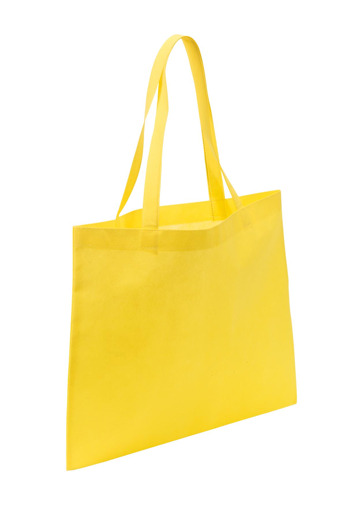 Torba na zakupy MARKET, żółty