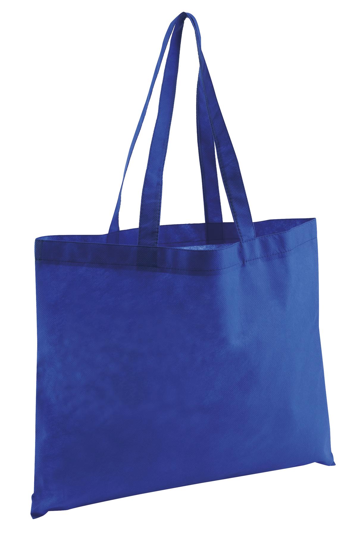 Torba na zakupy MARKET, niebieski