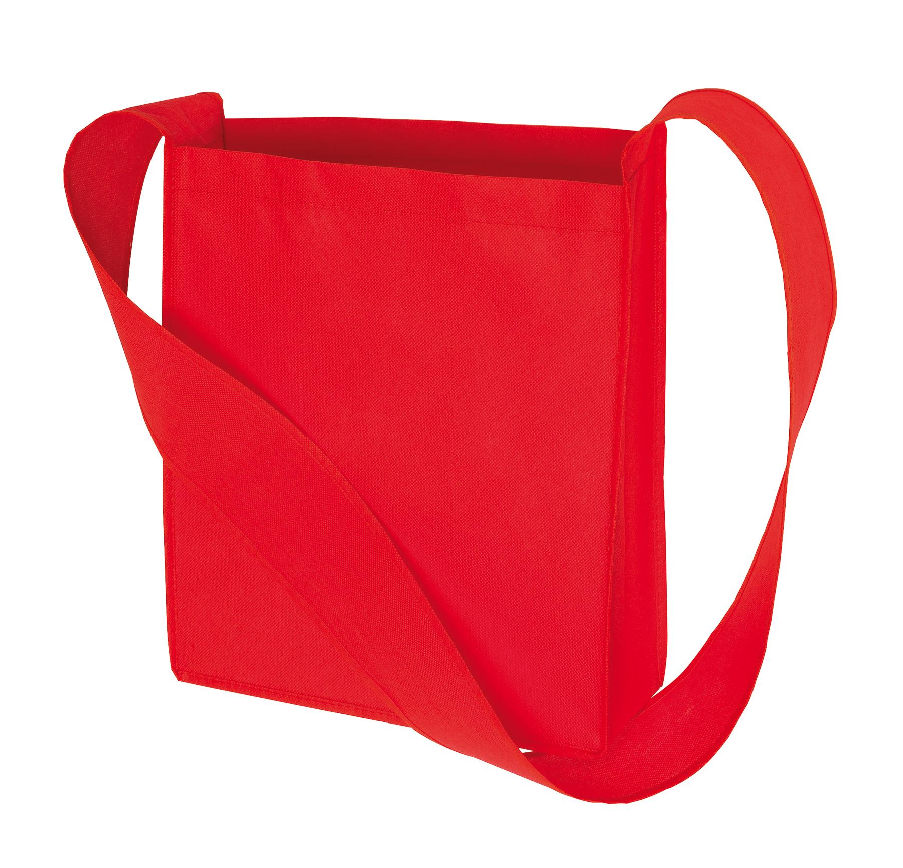 Torba na zakupy MALL, czerwony
