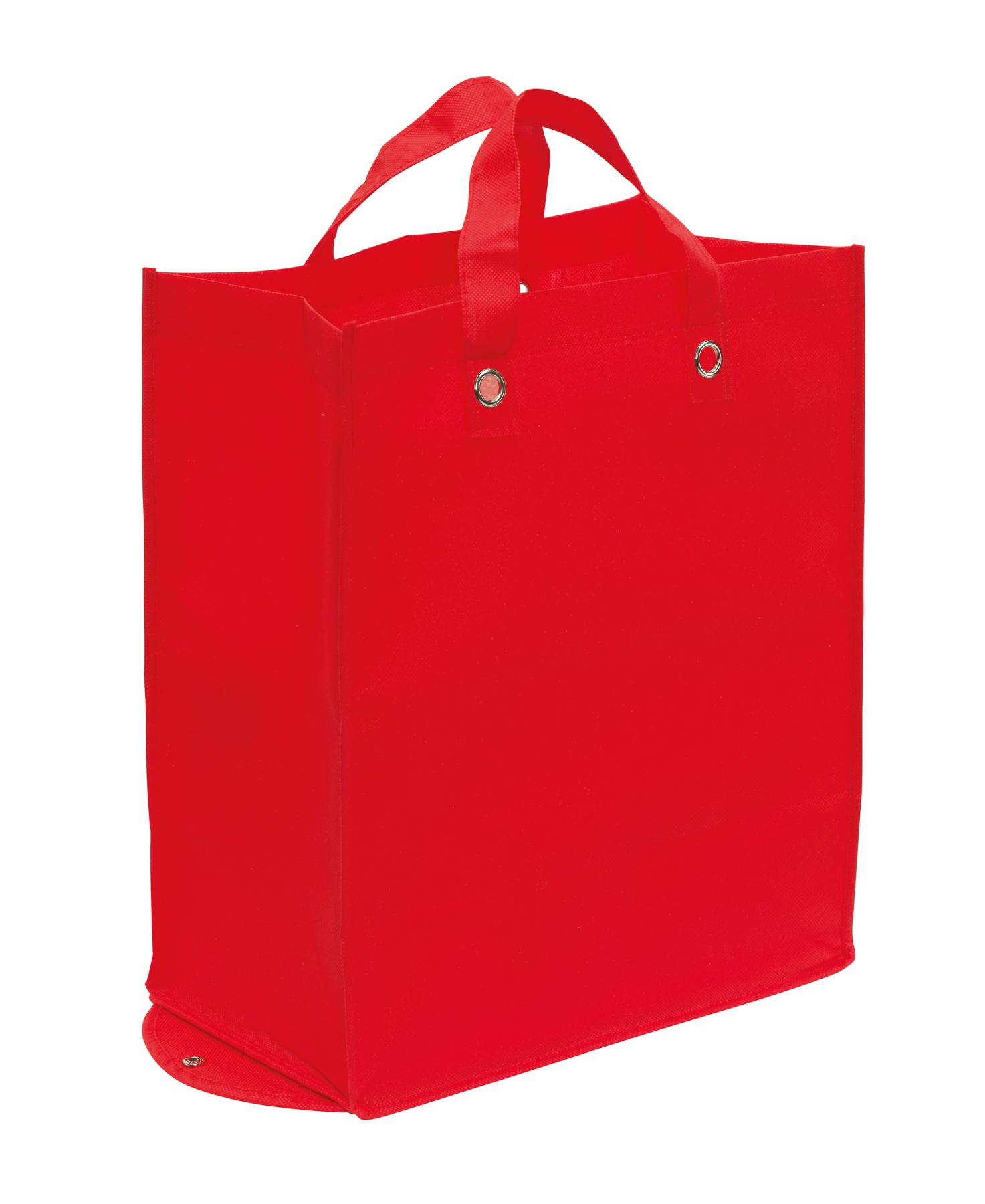 Torba na zakupy PALMA, czerwony