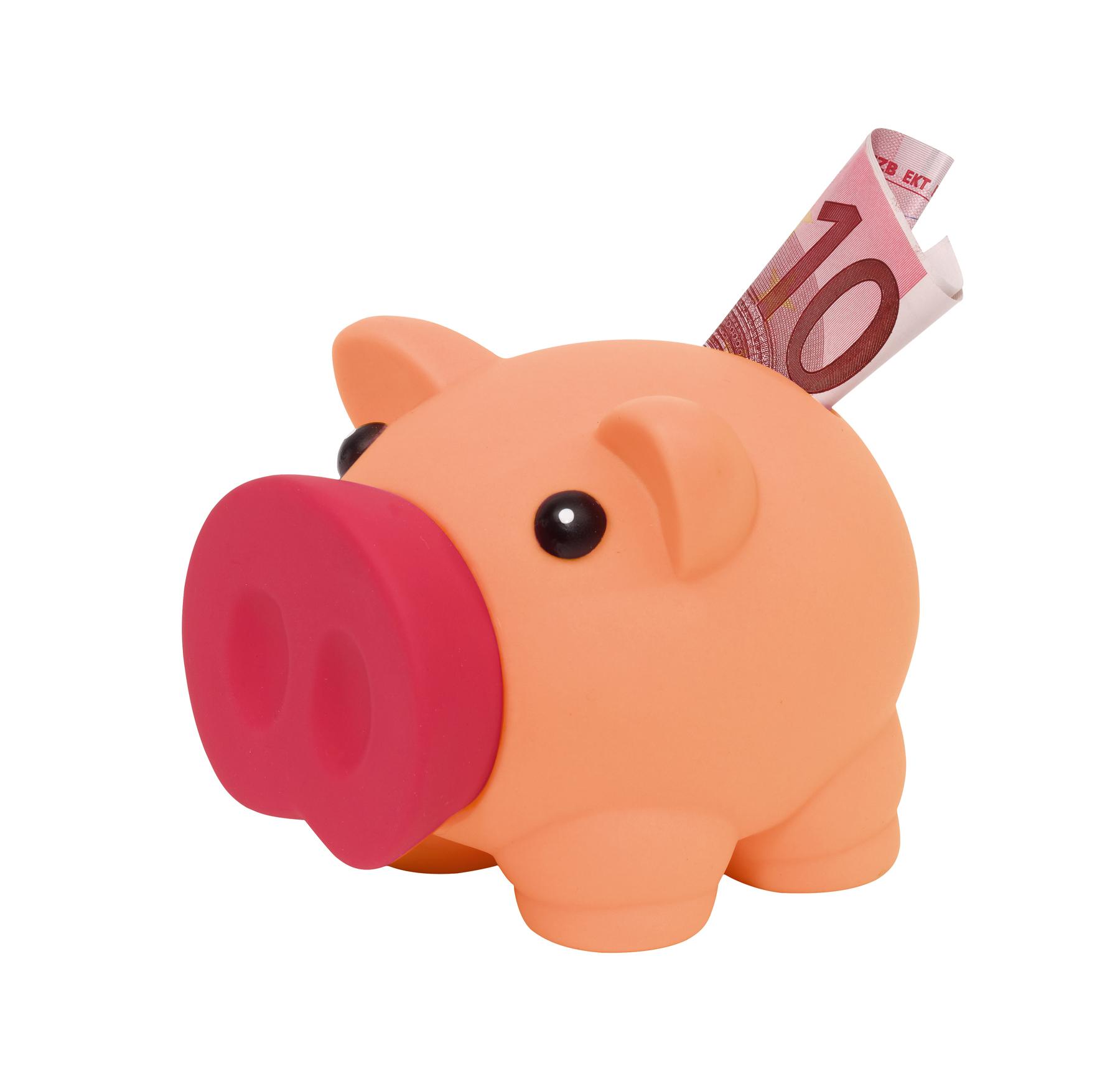 Skarbonka w kształcie świnki MONEY COLLECTOR, różowy