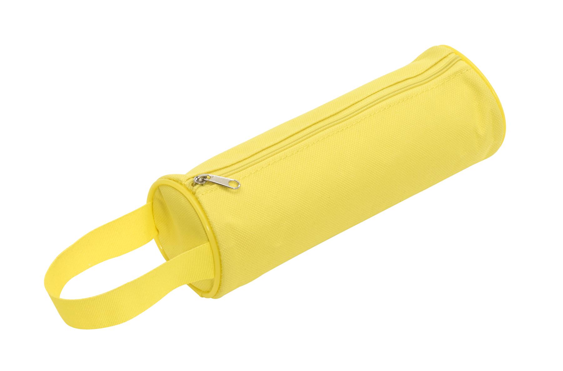 Piórnik okrągły SCHOOL, żółty