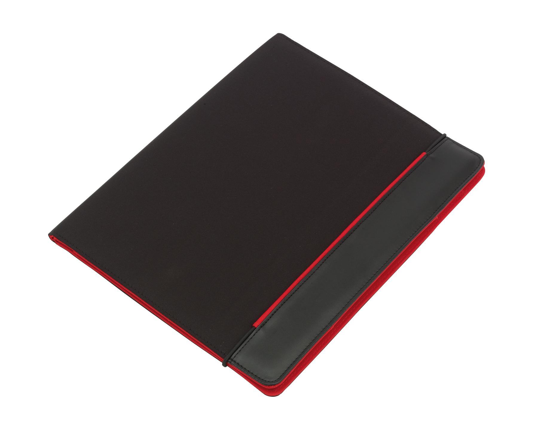 Portfolio YOUNG STAR, czarny, czerwony