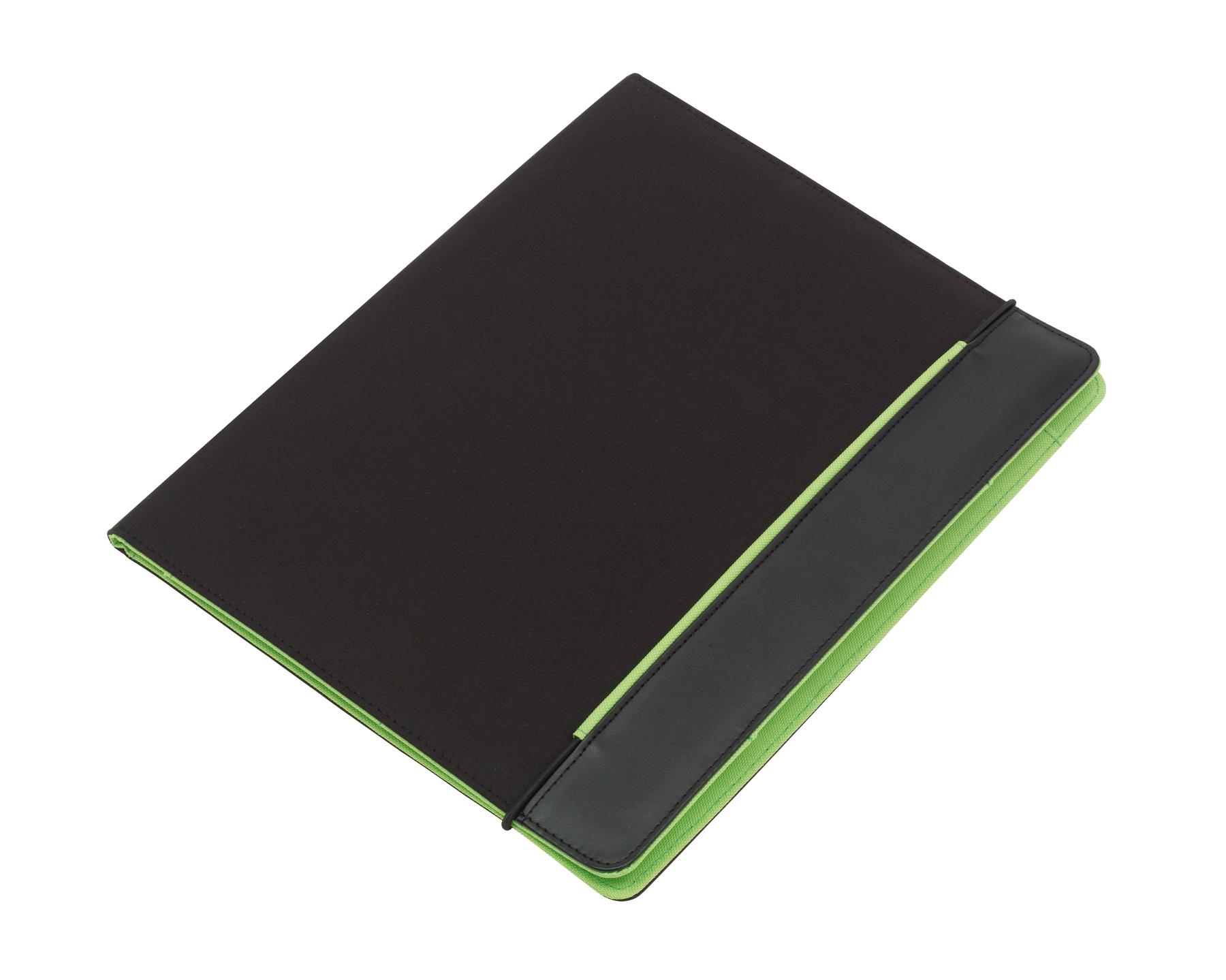 Portfolio YOUNG STAR, czarny, zielony