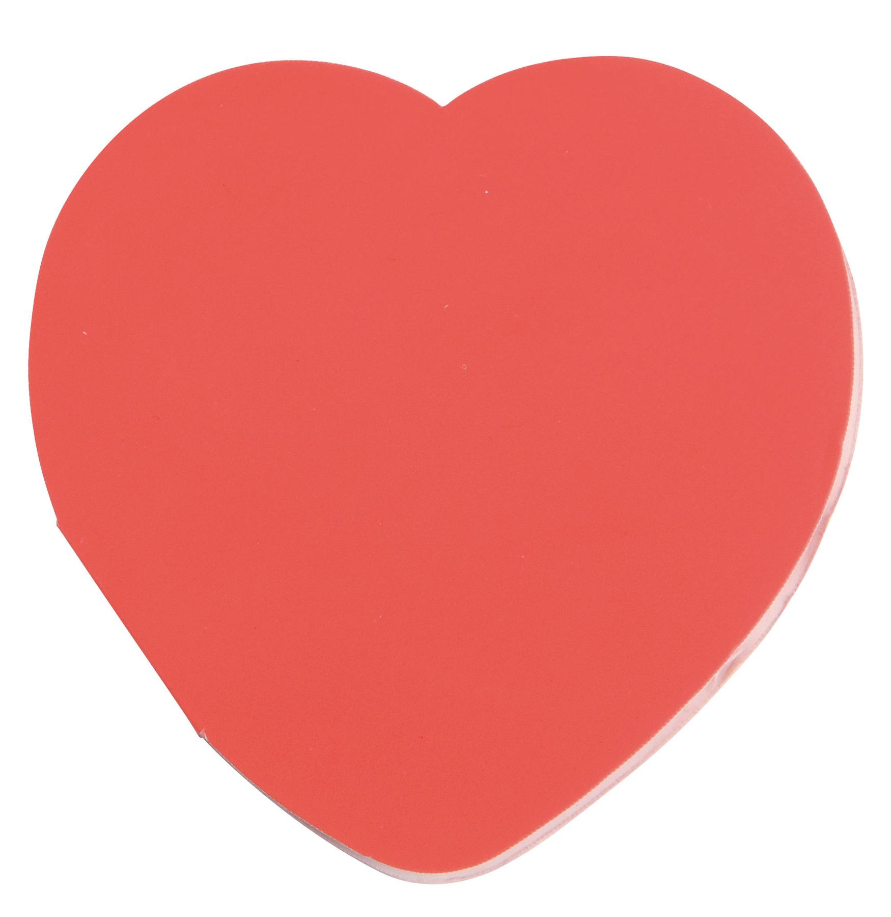 Naklejki w kształcie serca IN LOVE, czerwony