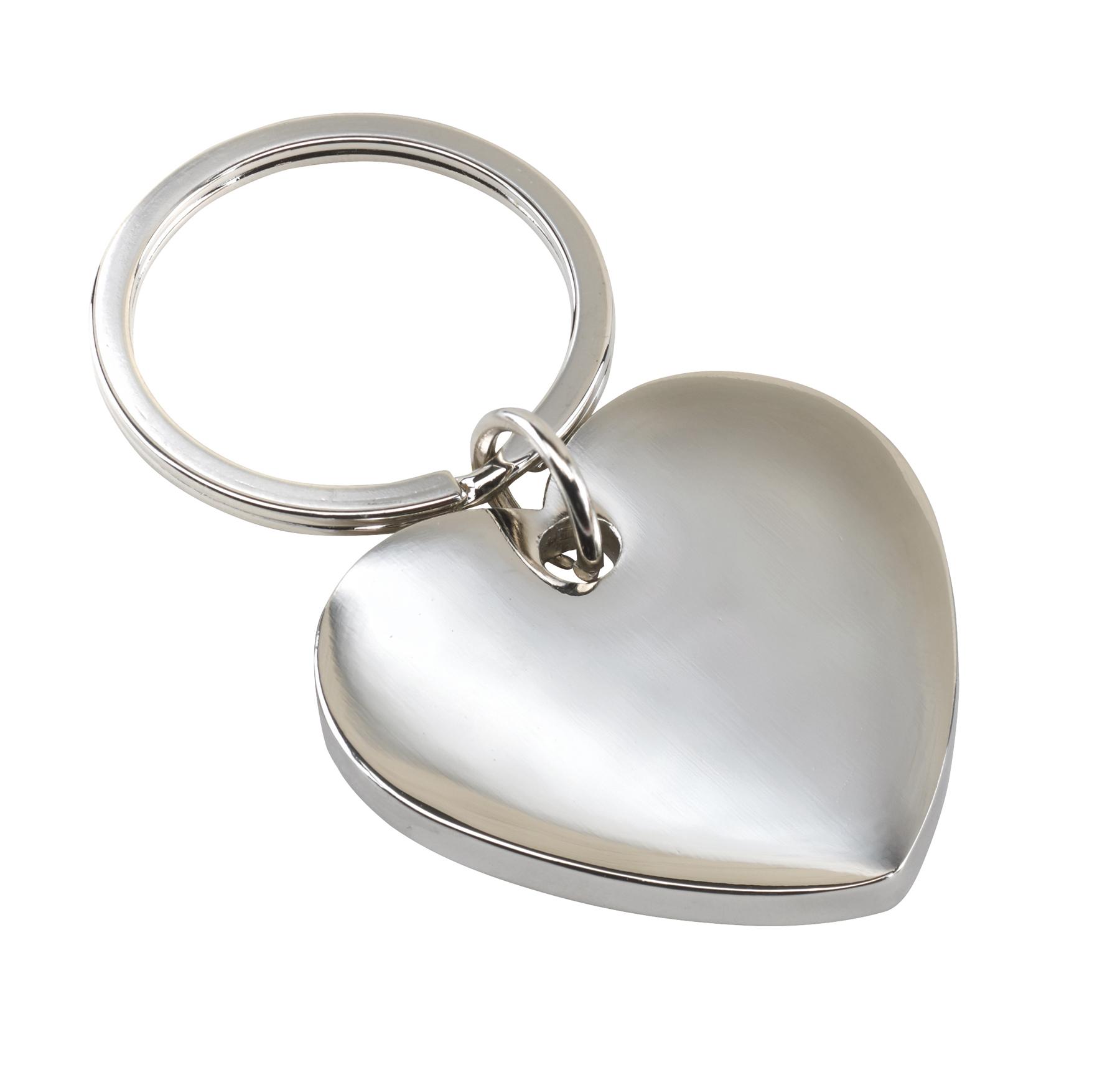 Brelok LOVELY, srebrny