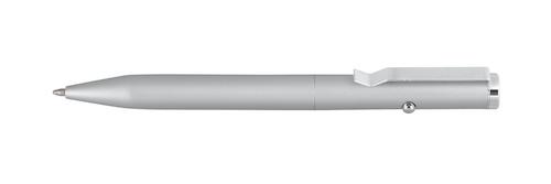 Metalowy długopis LOOK, srebrny
