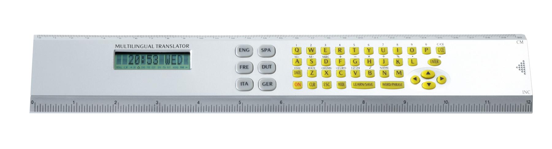Kalkulator TRANS-SCRIPT, srebrny