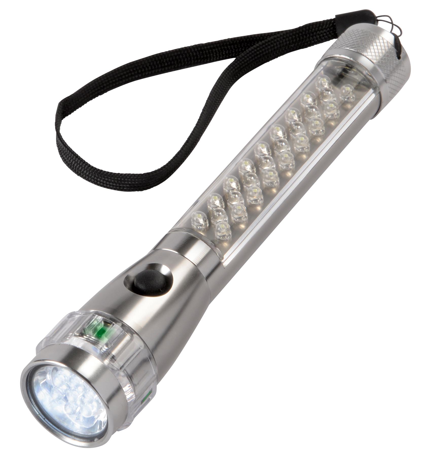 Latarka LED FLASH, antracytowy