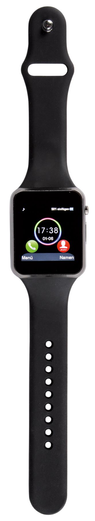 Smart watch CONNECT, czarny