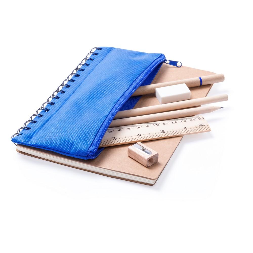 Zestaw szkolny, notatnik ok. A5, piórnik