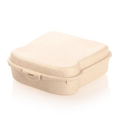 """Bambusowe pudełko śniadaniowe """"kanapka"""" B'RIGHT"""