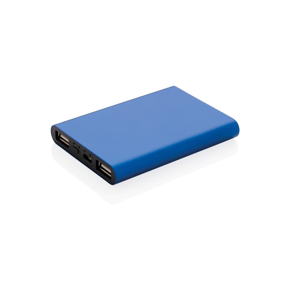 Power bank 5000 mAh niebieski