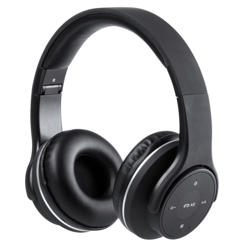 Bezprzewodowe słuchawki nauszne, głośnik bezprzewodowy 2x3W