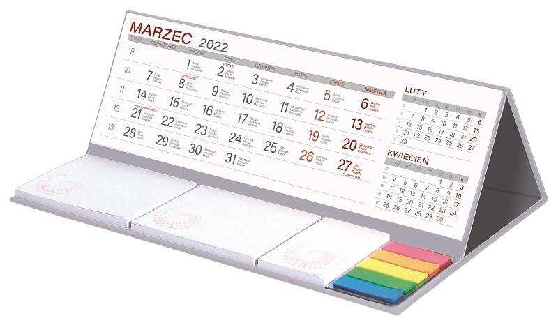 Kalendarz z notesem MAXI