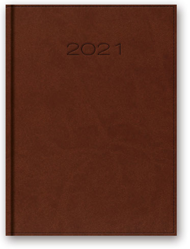 Kalendarze książkowe dzienne Vivella A5 z registrami