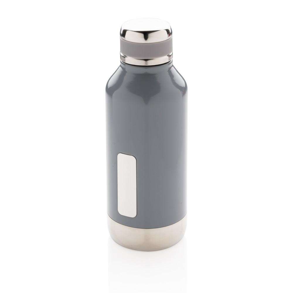Próżniowa butelka sportowa 500 ml szara