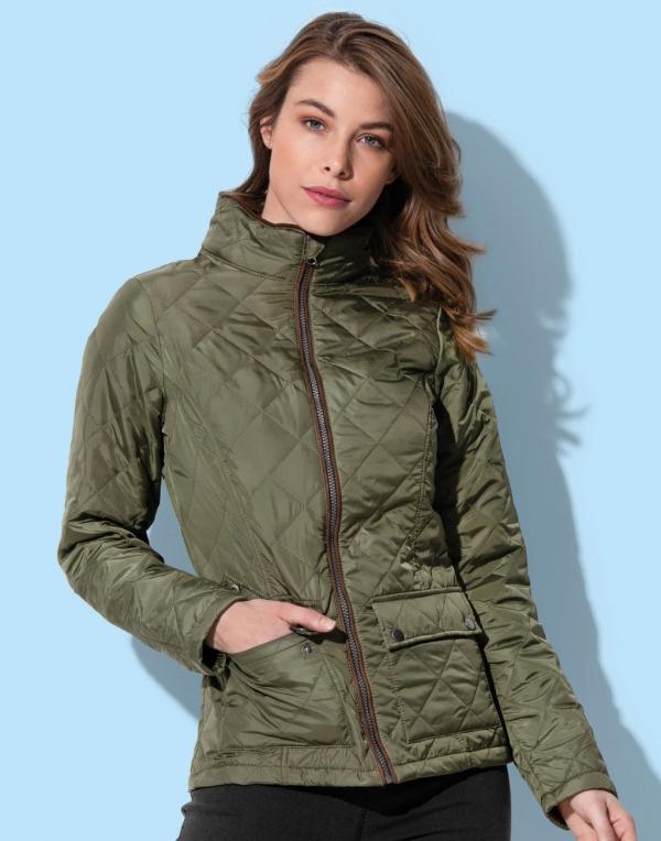 Damska pikowana kurtka
