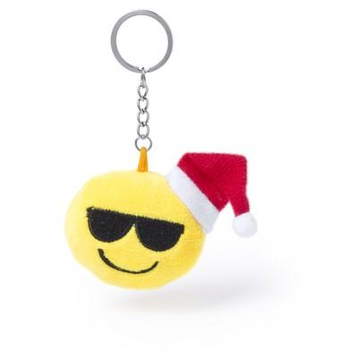 """Brelok do kluczy, świąteczna """"uśmiechnięta buzia"""""""