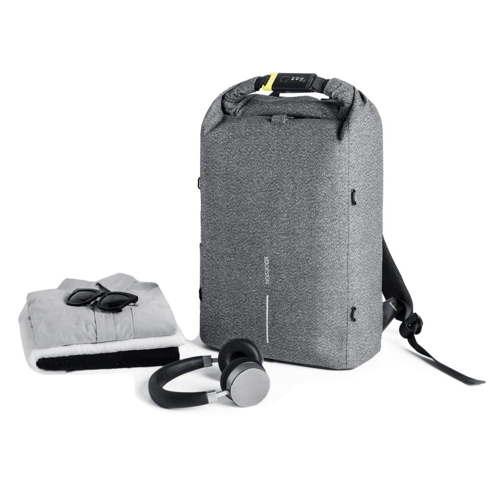Urban plecak chroniący przed kieszonkowcami