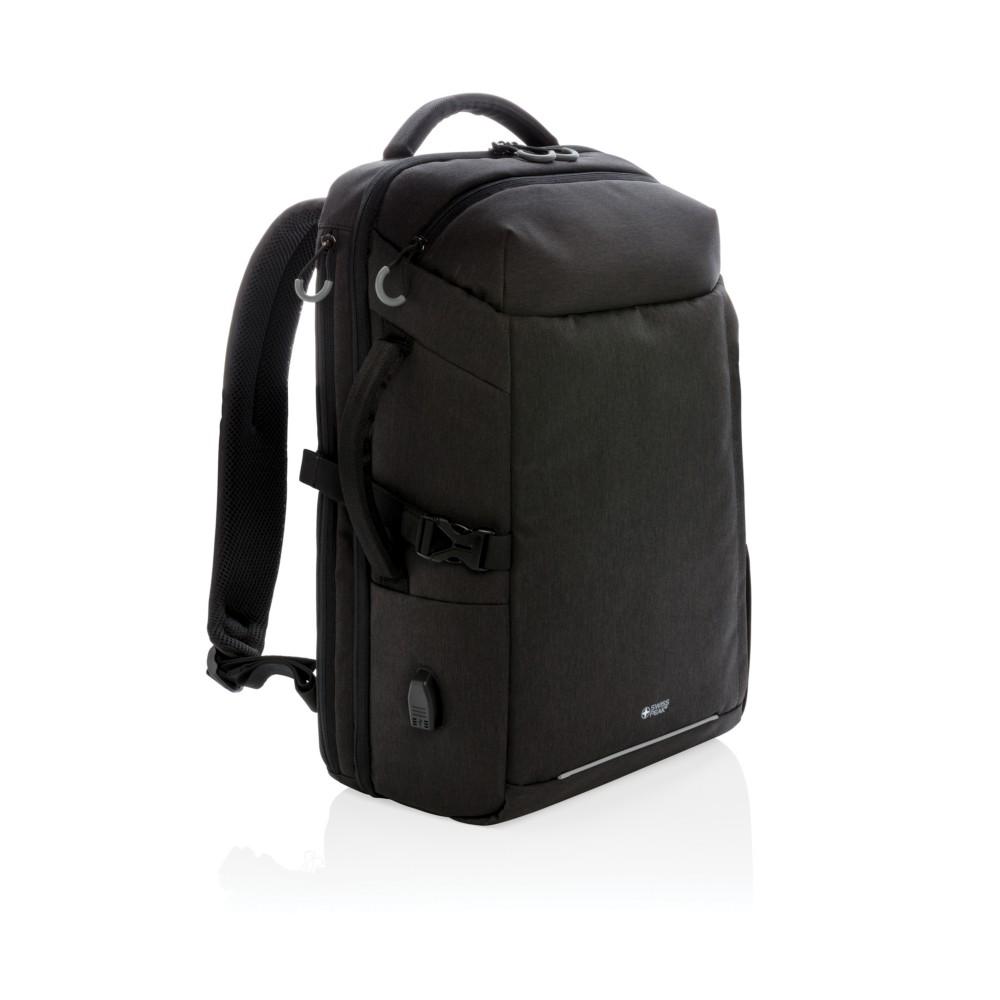 "Plecak na laptopa 17"" Swiss Peak, ochrona RFID"