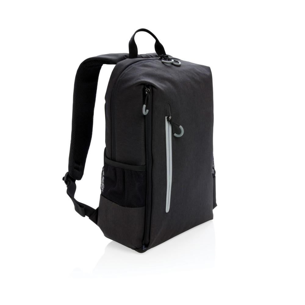 """Plecak na laptopa 15"""" Lima, ochrona RFID, czarny"""