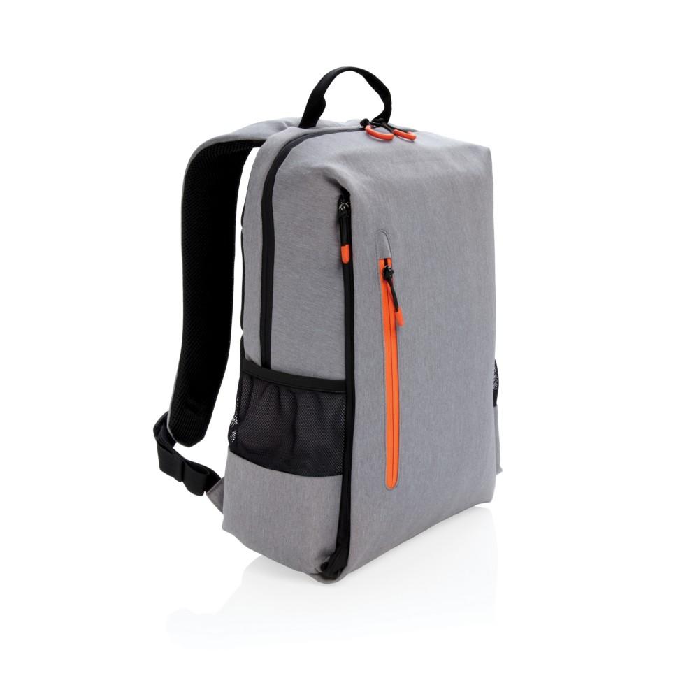 """Plecak na laptopa 15"""" Lima, ochrona RFID, szary"""