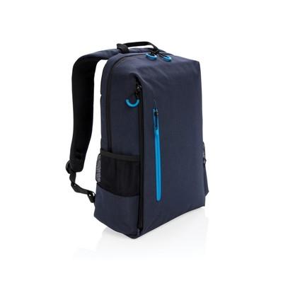 """Plecak na laptopa 15"""" Lima, ochrona RFID, niebieski"""