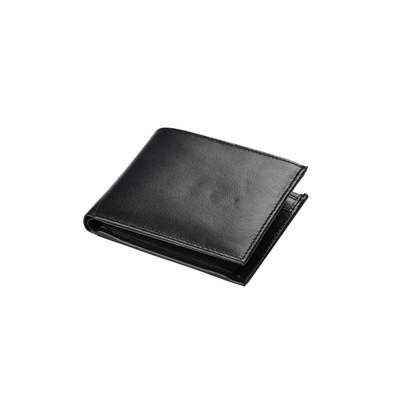 Skórzany portfel Mauro Conti, czarny